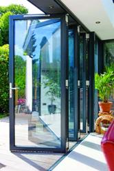 Bi-folding doors create a stylish character to your building
