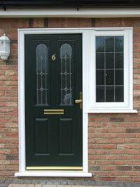 Residential front door