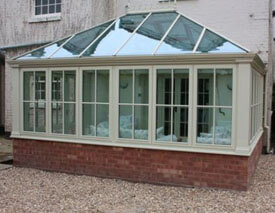 Victorian 3 sided conservatory