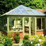 Modern conservatory in Hertford