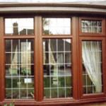 Wood window frame