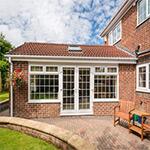 Modern conservatory