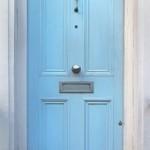New modern front door
