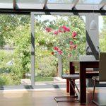 Laminate floor conservatory